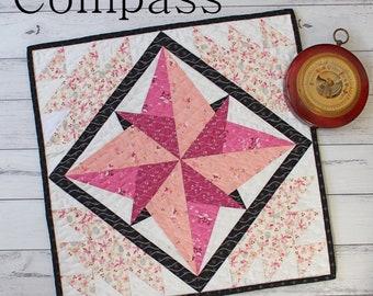 Compass- PDF Pattern (On Sale)