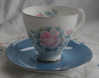 "Royal Albert ""Sorrento"" Coffee Cup and Saucer"
