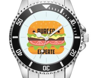 Gift for restaurateurs Burgerfans Cooks watch 6112