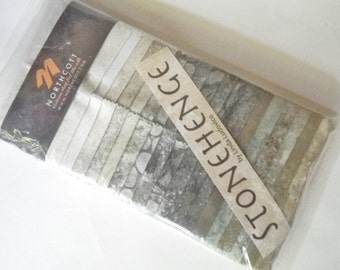 Jelly Roll  Stonehenge EVERST Everest Quilting Strips Northcott Fabric Stones