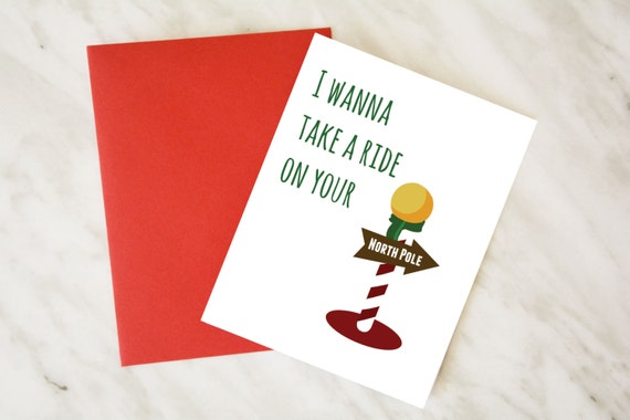 Funny christmas card dirty christmas card couple christmas m4hsunfo