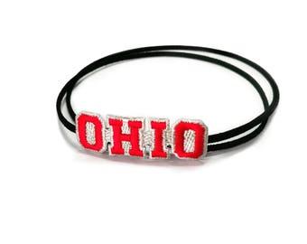 New! TamBands OHIO Choker/Bracelet/Baby Headband