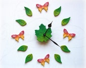 Nature wall decal with Bu...