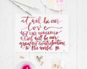 contribution digital print