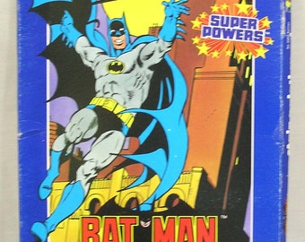 Bat Man Stain Painting Kit 1984 Fundimensions Unopened