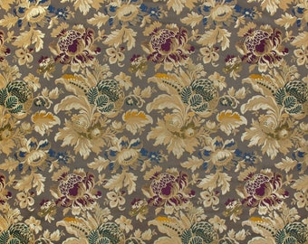 by the yard - Ardecora luxury Italian silk lampas fabric