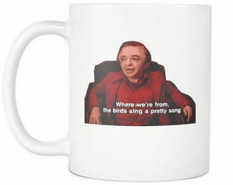 Twin Peaks Mug - The Arm - Man from Another Place - Where We're From, The Birds Sing A Pretty Song