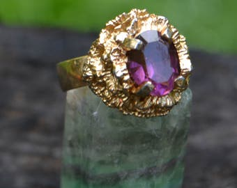 Vintage Sarah Coventry Costume Ring