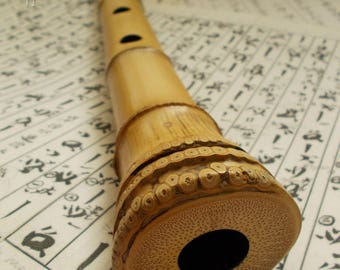 Root shakuhachi flute