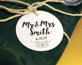 10 Custom Wedding Tags
