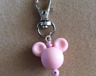 Mickey Head Keychain