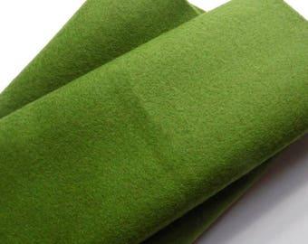 Fieltro de color Verde Botella, rollo fieltro, Tamaño 25 cm x 90 cm, fieltro muy suave al tacto, fieltro acrilico, fieltro de gran calidad