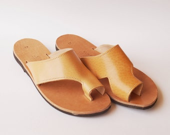LEATHER MEN SANDAL,calf leather sandal,men sandal,boys sandal,nice gift,hand made,made Greece,summer ,real leather sandal,sandal,