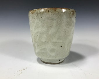White Decorated Cup