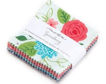 Gooseberry Charm Pack by Vanessa Goertzen of Lella Boutique for Moda Fabrics. 5010PP