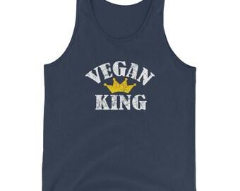Vegan King Unisex Tank Top