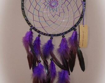 Dream catcher - dreamcatcher - purple black