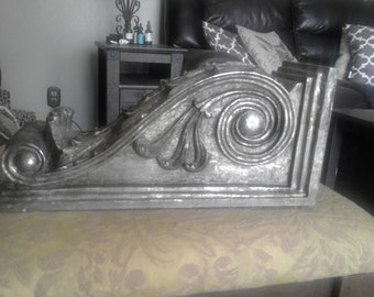 Gold and Silver Antiqued Corbel
