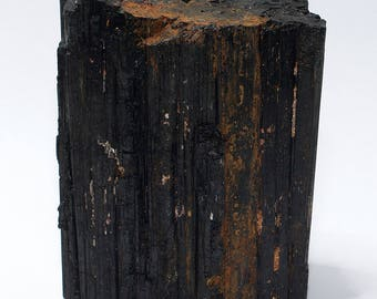 Black Tourmaline/Schorl Crystal XL No. 1 with stand area 685 grams