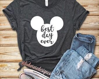 Best Day Ever Disney shirt- Womens Disney Shirt
