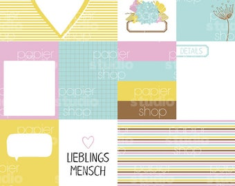 056 - LIEBLINGSMENSCH Memorykeeping Kit - DIGITAL