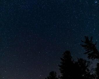 Starry Night Sky  Digital Download