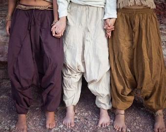 Cotton Harem Pants (Unisex)