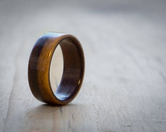 Rosewood bentwood ring, Wood wedding ring, Mens wood ring, Womens wood ring, Wood ring, Bentwood ring, Wooden ring, Handmade wood ring