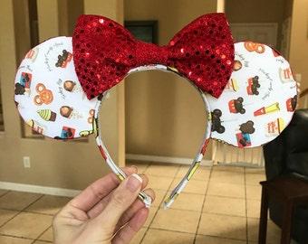 Disney food insipred ears