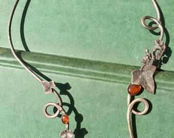 Elvish Torque with Ambers