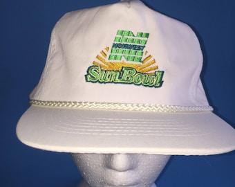 Vintage Norwest Sunbowl Trucker Snapback Hat Adjustable 1990s College Football
