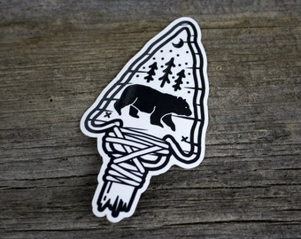 2 Sticker Pack - The Great Black Bear