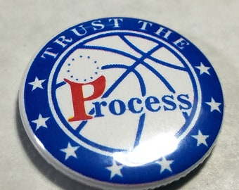 Trust the Process 1 inch Button