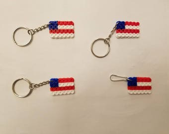 American Flag party favor pack - Set of 4