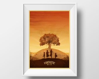 Fantastic Mr. Fox Poster Print
