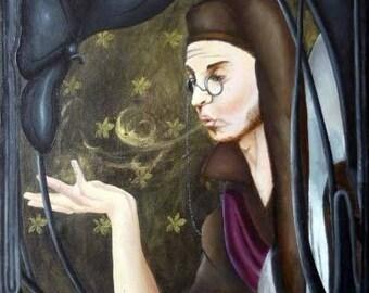 Sandman, acrylic (60x80cm).