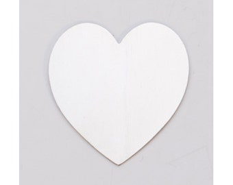 "Nickel Silver Large Heart 1-3/8"" x 1-1/2"" 24ga PKG of 6"