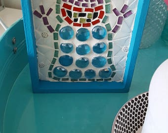 Mosaic painting - monster