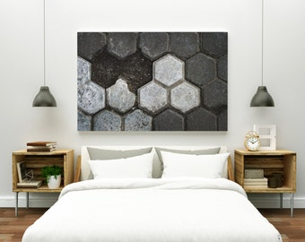 interlock // abstract photography canvas print // large abstract wall art // abstract art print // geometric architecture photography / bali