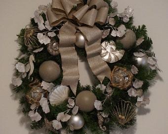 Upscale Coastal Wreath