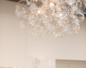 We design you customize one of a kind by thelightfactory on etsy the 45 bubble chandelier bubble light dining room chandelier led lighting ceiling light custom chandelier aloadofball Choice Image