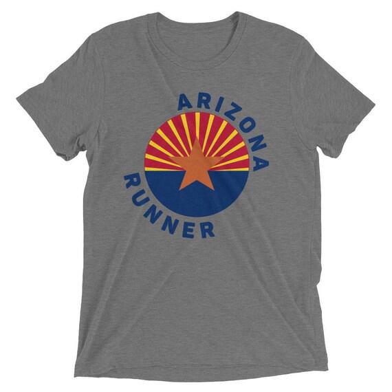 Men's Arizona Runner TriBlend T-Shirt - Run Arizona - Men's Running Short Sleeve Shirt