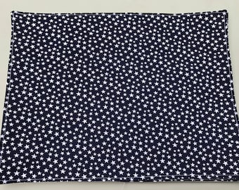 Blue Placemats, Navy Blue Placemats, Blue and White Placemats,4th of July Placemats, Americana Placemats, Patriotic Decor, 4th of July Decor