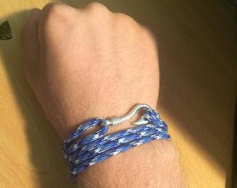 Hook Bracelet - Blue