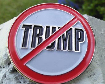 Anti Donald Trump Lapel Pin