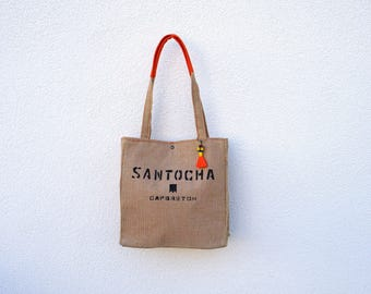 """Santocha"" Tote"