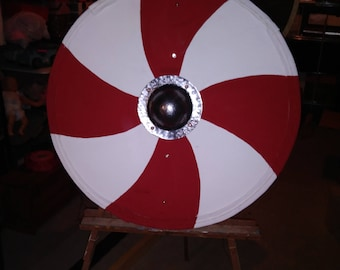 Economy Painted Shield with a Simple Paint Scheme