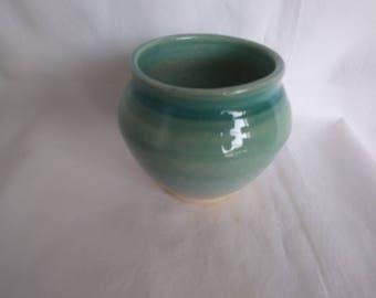 Celadon. Porcelain vase