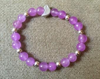 Baby Girl Bead Bracelet