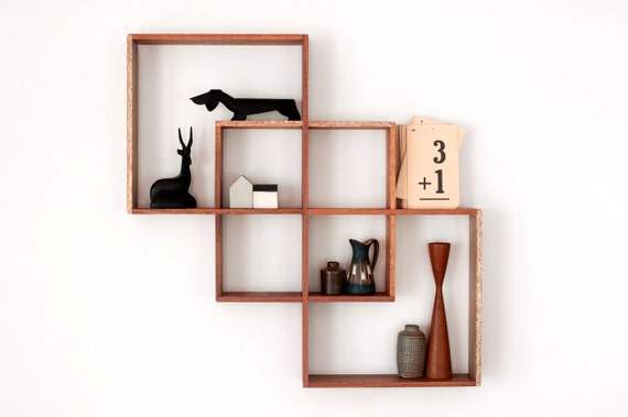 3 shadow box display cabinet to display your treasures wall rh etsy com wall cabinet open shelves wall cabinet shelving